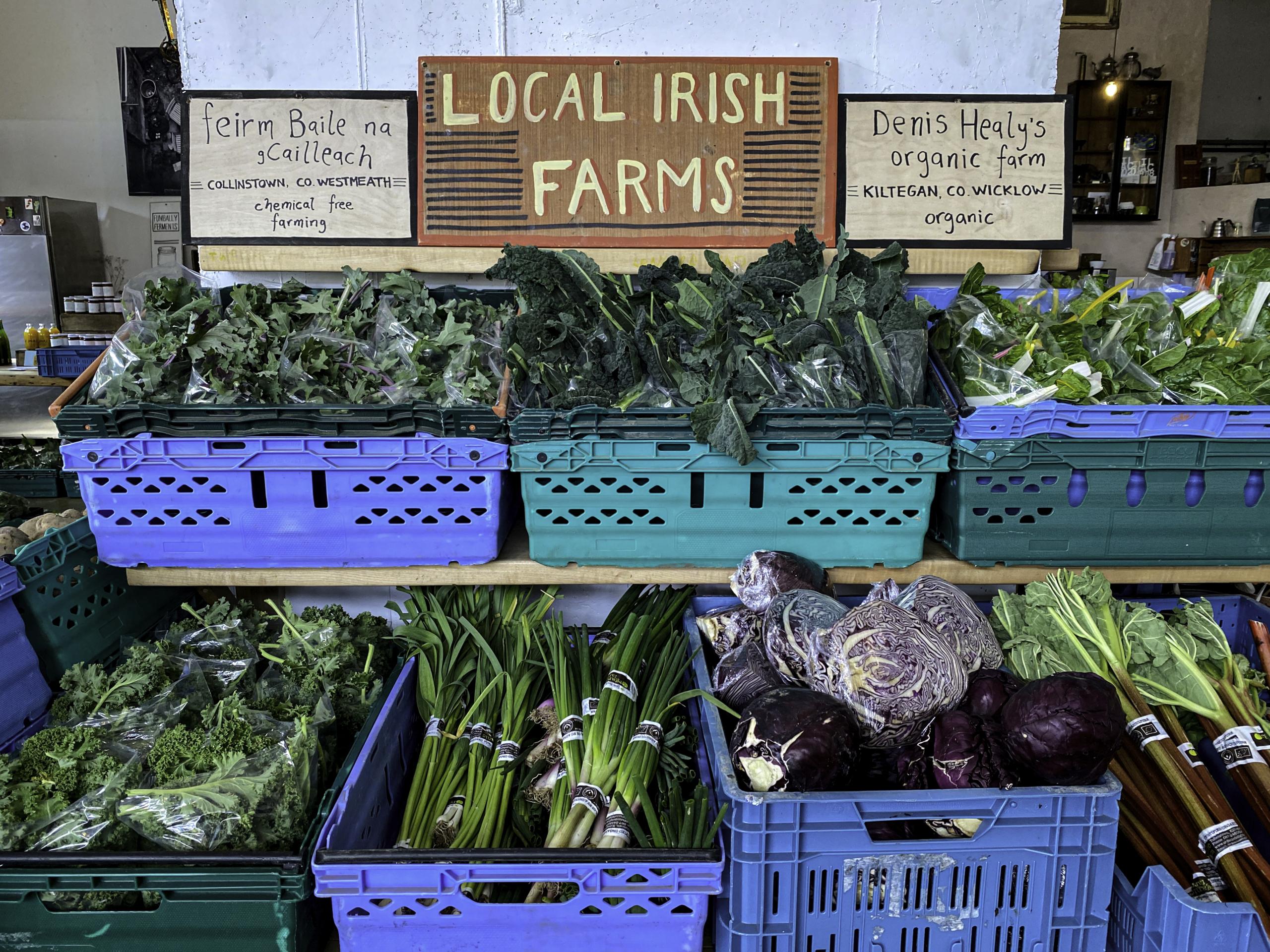 Local Irish Farm Produce